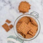 Keto Graham Crackers - easy sugar free recipe