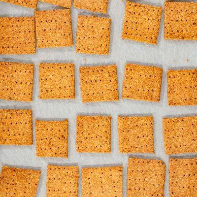 Keto Graham Crackers Recipe – Easy Low-Carb & Sugar-Free