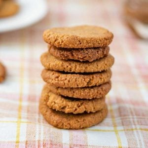Keto Pumpkin Spice Cookies - easy sugar free cookies recipe
