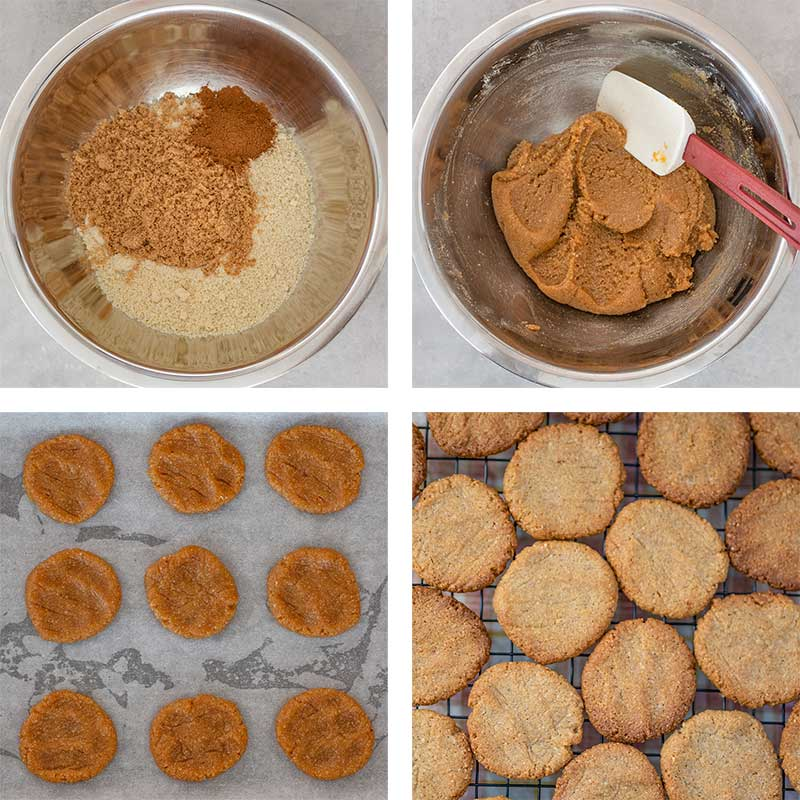 Keto Pumpkin Spice Cookies Ingredients - easy sugar free cookies recipe