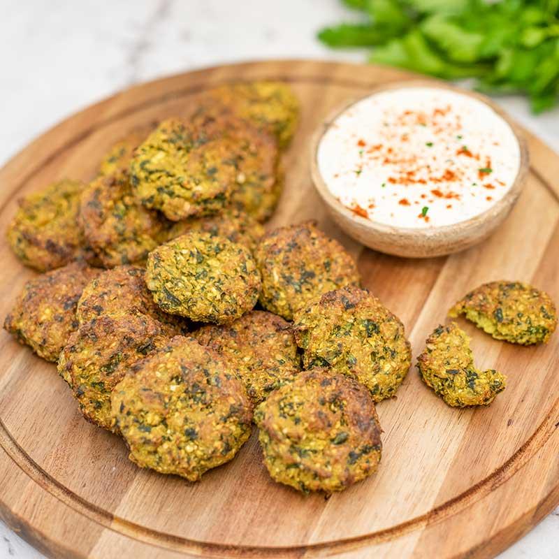 Low Carb Falafels - easy keto vegetarian recipe