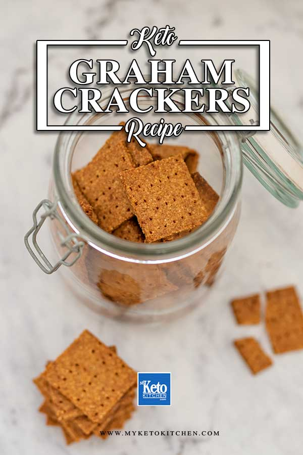 Low Carb Graham Crackers - easy sugar free recipe