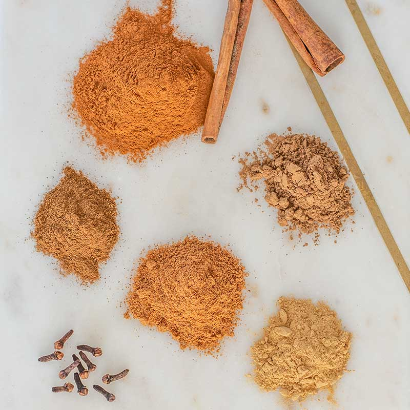 Pumpkin Spice Mix Ingredients - fall inspired seasoning recipe