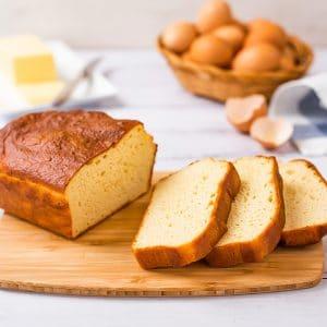 Best Keto Bread sliced to eat