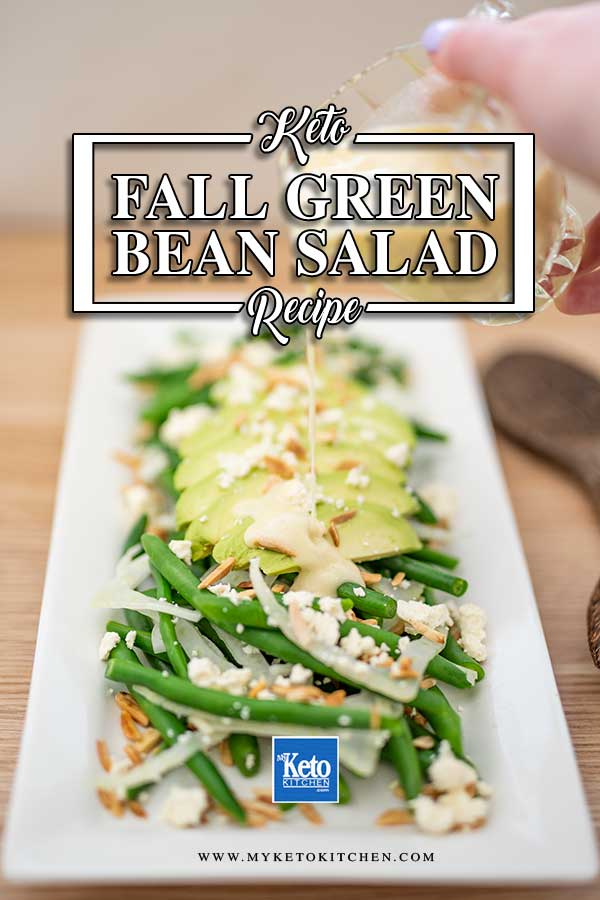 Autumn Green Bean Salad - easy keto salad recipe