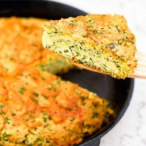 Easy Keto Cheesy Spinach Bread