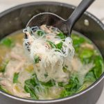 Keto Chicken Noodle Soup - easy soup recipe