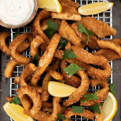 Keto Salt & Pepper Squid Recipe – Low Carb Calamari – Tender & Delicious