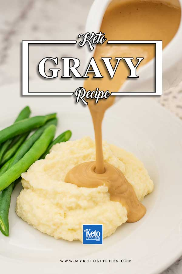 Low Carb Gravy - keto sauce recipe