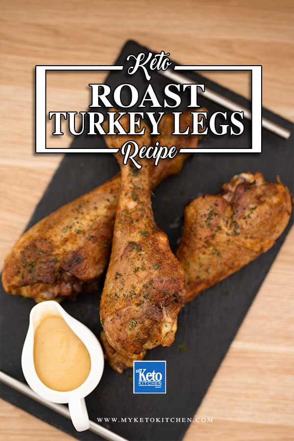 Roast Turkey Legs - easy keto thanksgiving recipe