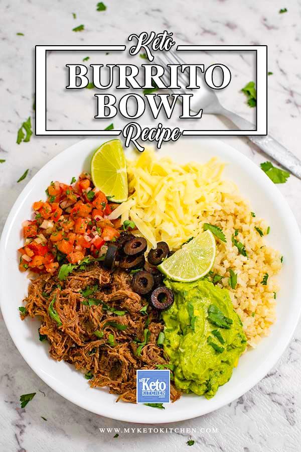 How to make keto burrito bowl