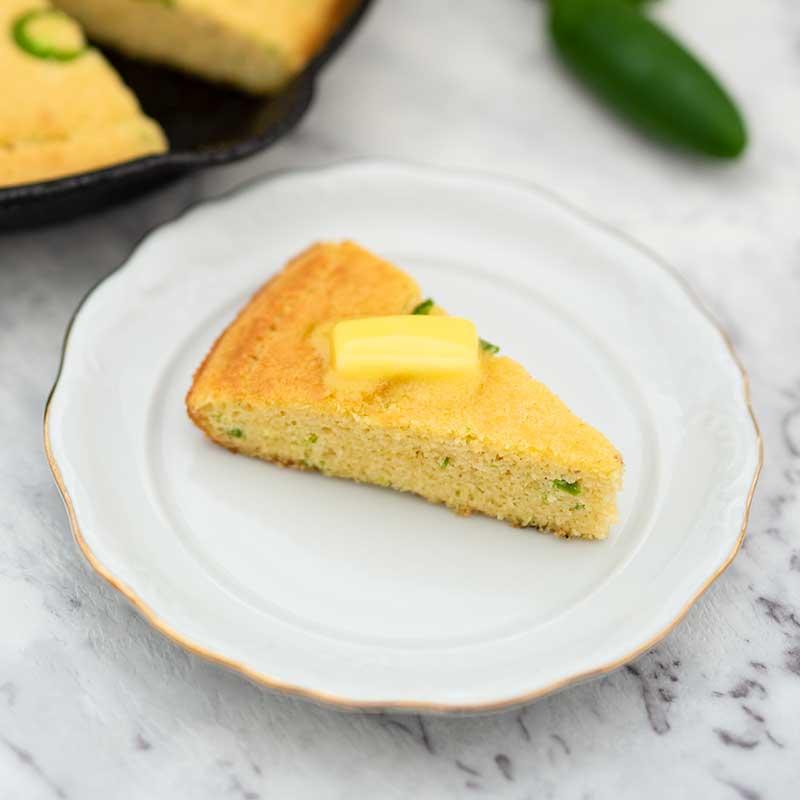 How to make Keto Jalapeno Cornbread - bread recipe
