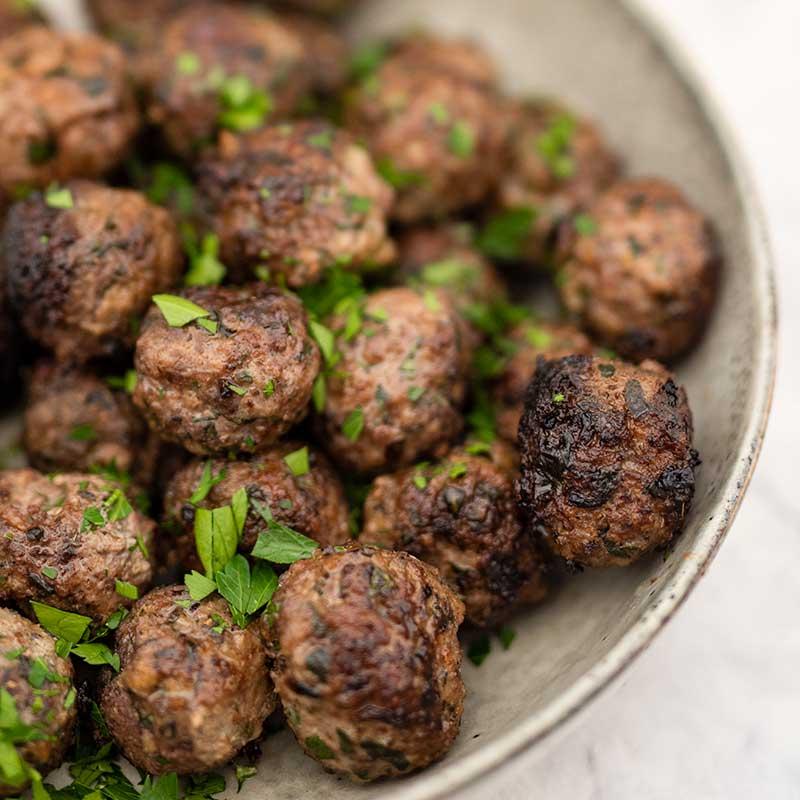 How to make Keto Keftedes - Greek Meatballs recipe
