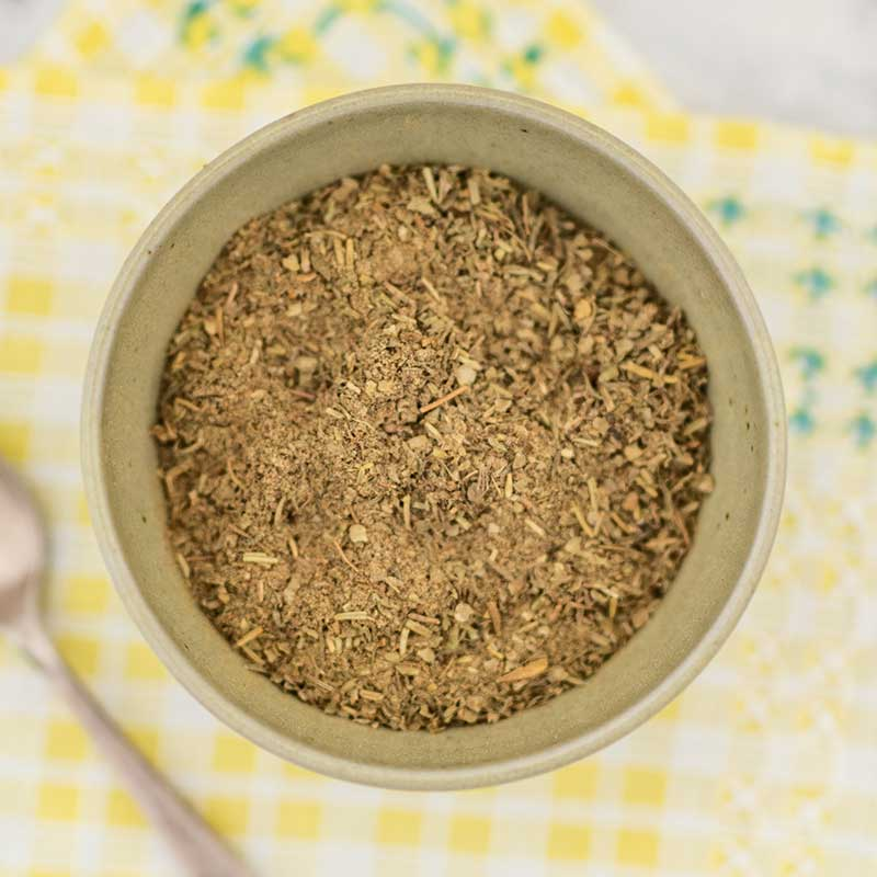 How to make Poultry Seasoning - easy keto spice mix recipe