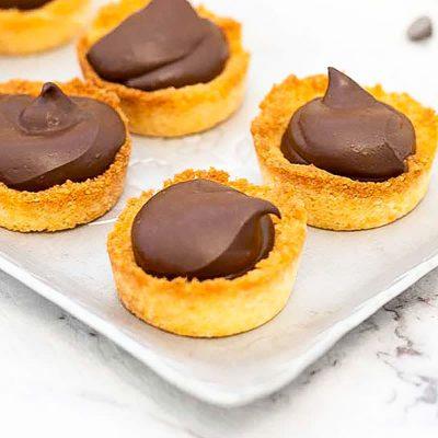 Keto Cookie Cups – Chocolate Fudge Flavor (2g Net Carbs)
