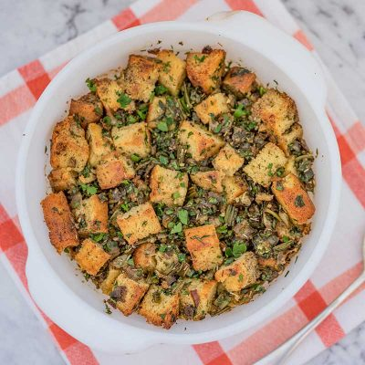 Keto Cornbread Stuffing – Low Carb Southern Dressing Recipe