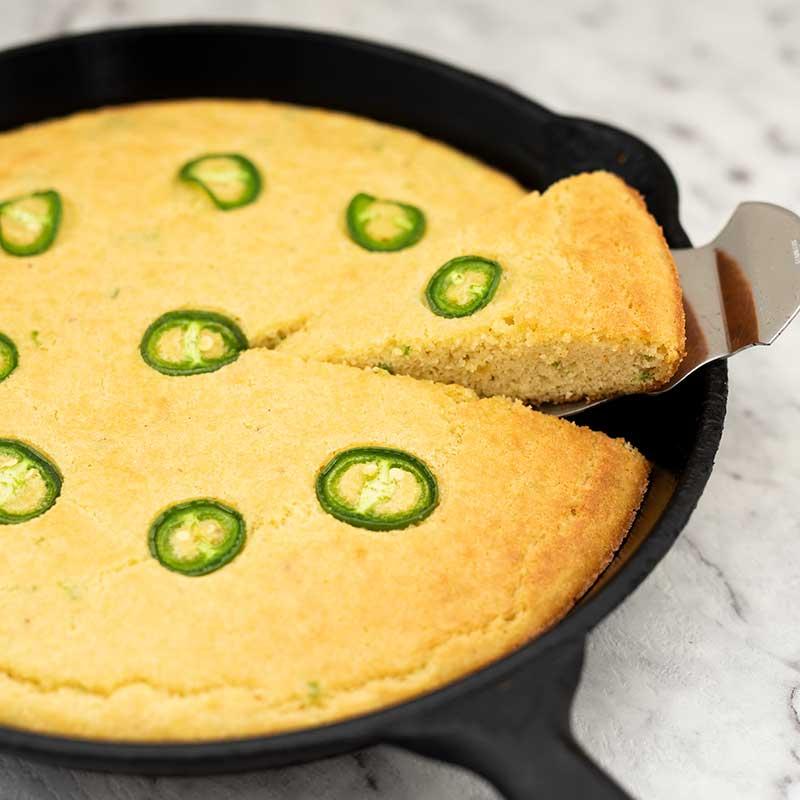 Keto Jalapeno Cornbread - bread recipe