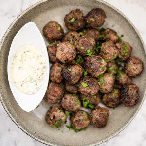 Keto Keftedes - Greek Meatballs recipe