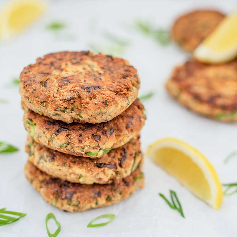 Keto Salmon Cakes - easy fish cakes recipe