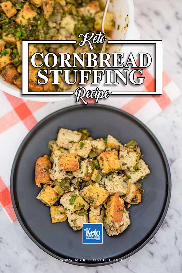 Keto Southern Cornbread Dressing - stuffing recipe