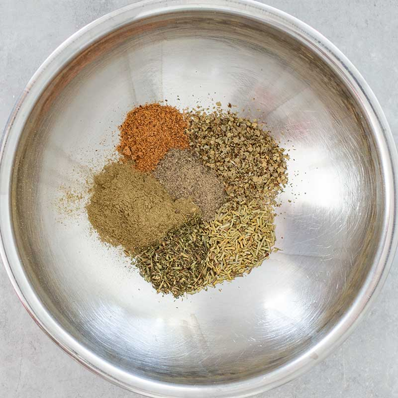 Poultry Seasoning Ingredients - easy keto spice mix recipe