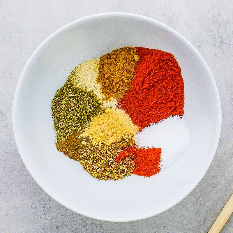 Cajun Seasoning Spice Mix Ingredients