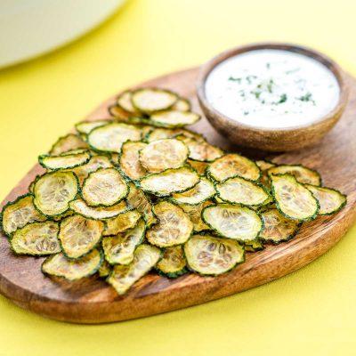 Keto Cucumber Chips – Easy Dehydrator Recipe