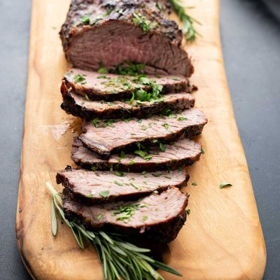 Grilled Tri Tip with Herb Marinade