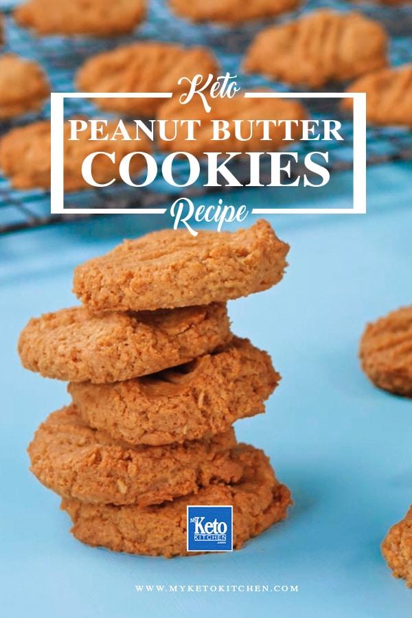 Crunchy Keto Peanut Butter Cookies Recipe