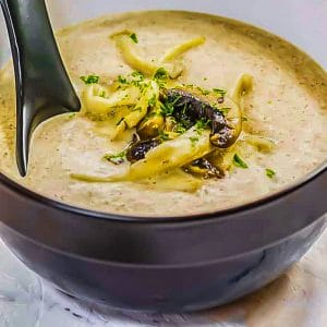 Keto Cream of Mushroom Soup