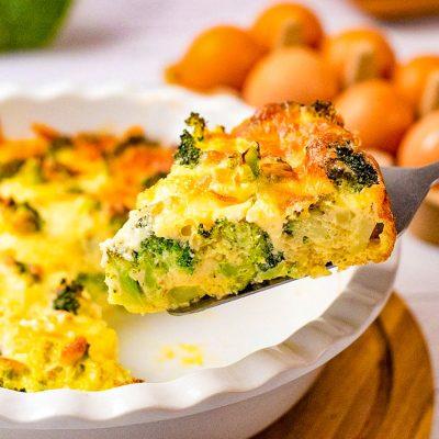 Crustless Broccoli Quiche Recipe – Healthy, Delicious and Nutritious