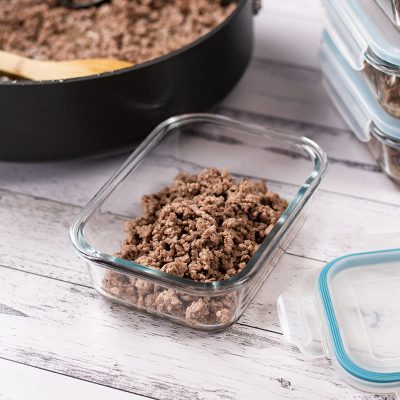 Keto Basic Ground Beef – Easy Meal Prep Recipe for those on a Budget