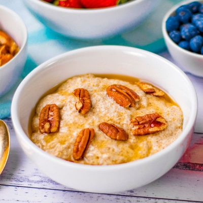 Easy Keto Oatmeal / Porridge Substitute – Low Carb, Tasty & Super Healthy Recipe (Omega 3s)