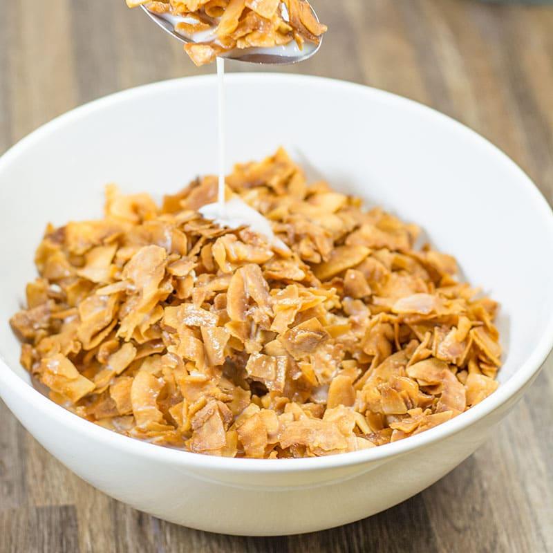 Keto corn flakes alternative