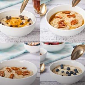 keto oatmeal porridge
