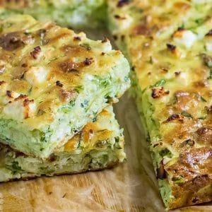 Keto Zucchini Slice