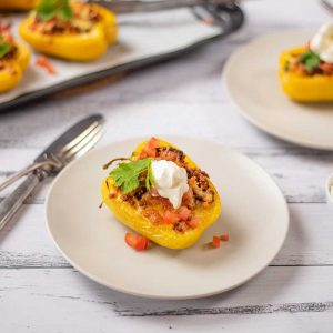 Keto Mexican Beef Peppers