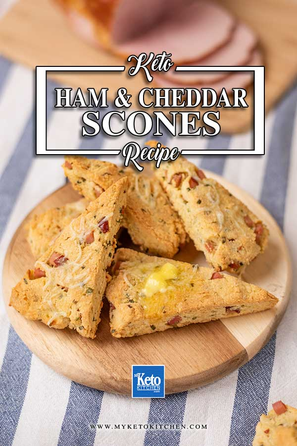 Low Carb Ham and Cheddar Scones
