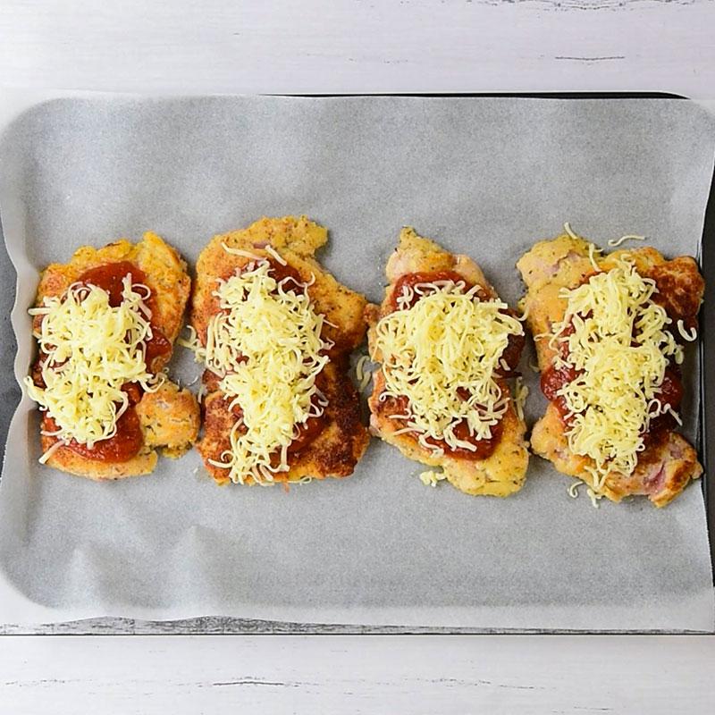 Keto Chicken Parmigiana Ingredients