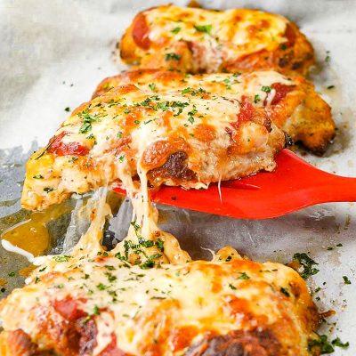 Keto Chicken Parmesan / Parmigiana Recipe