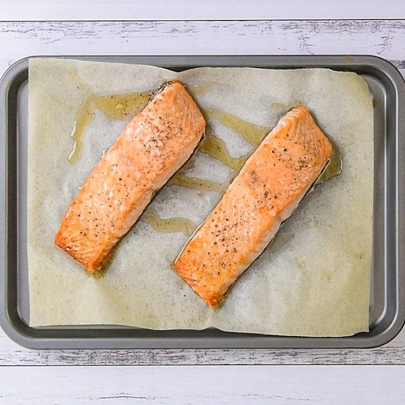 Keto Salmon Salad Wraps Ingredients