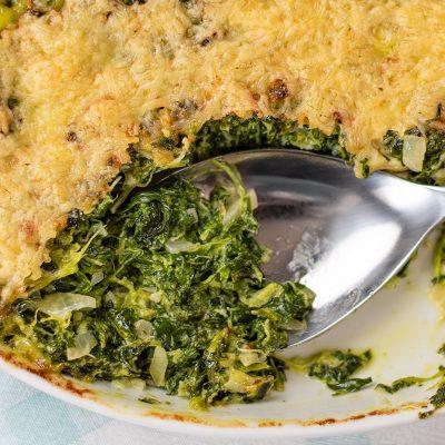 Keto Spinach Gratin – Tasty Nutritious Side Dish Recipe