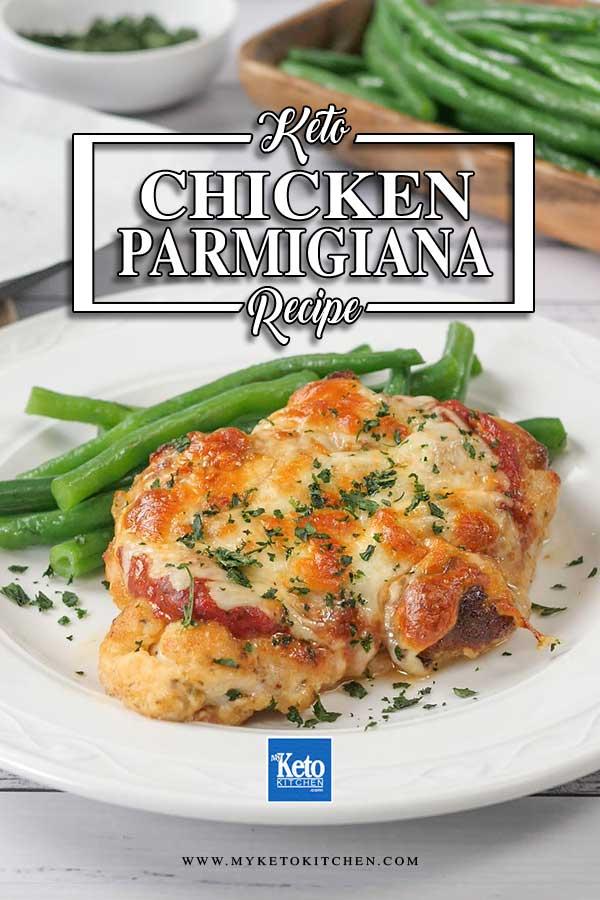 Low Carb Chicken Parmigiana