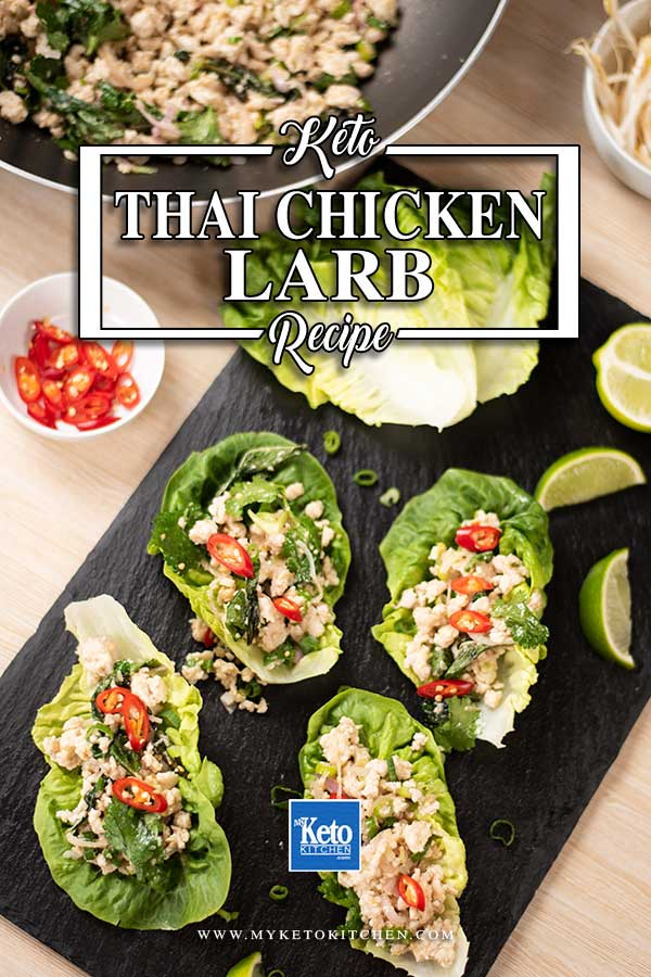 Low Carb Thai Chicken Larb