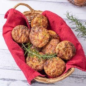 Keto Roast Lamb Muffins