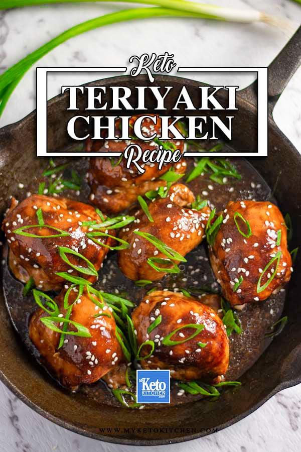 Keto Teriyaki Chicken - Delicious Sugar Free Japanese