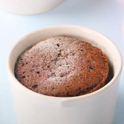 Keto Chocolate Mug Cake Recipe with Protein Powder