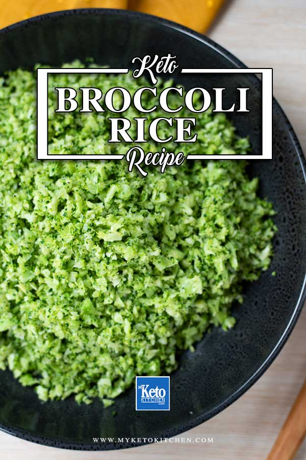 Keto Broccoli Rice