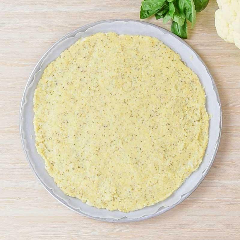 Keto Cauliflower Pizza Crust Ingredients