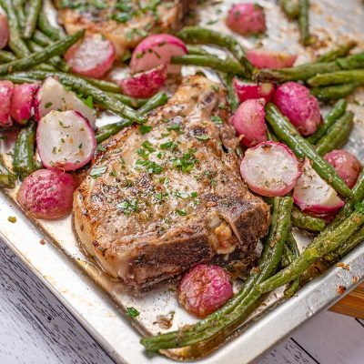Keto Sheet Pan Ranch Pork Chops – Quick & Easy Recipe